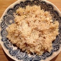 Gluten Free Garlic Parmesan Quinoa