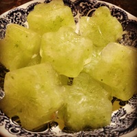 Lemon, Cucumber & Ginger Detox Ice Cubes