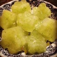 Lemon, Cucumber & Ginger Detox Ice Cubes
