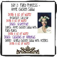 Day 2: Paleo Princess – Apple Chicken Salad