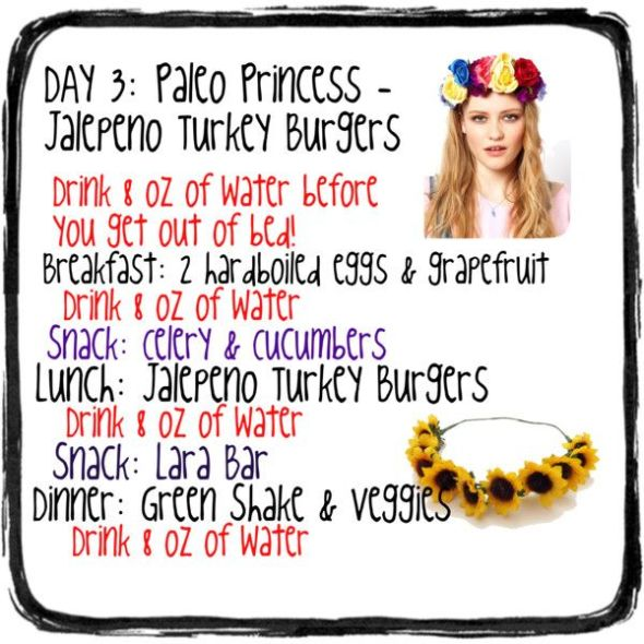 Day 3: Paleo Princess – Jalapeño Turkey Burgers