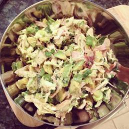 chicken avocado salad