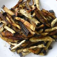 Eggplant Fries {Gluten Free, Paleo}