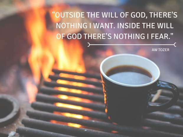 -Outside the will of God, there's nothing I want. Inside the will of God there's nothing I fear.- AW Tozer.jpg